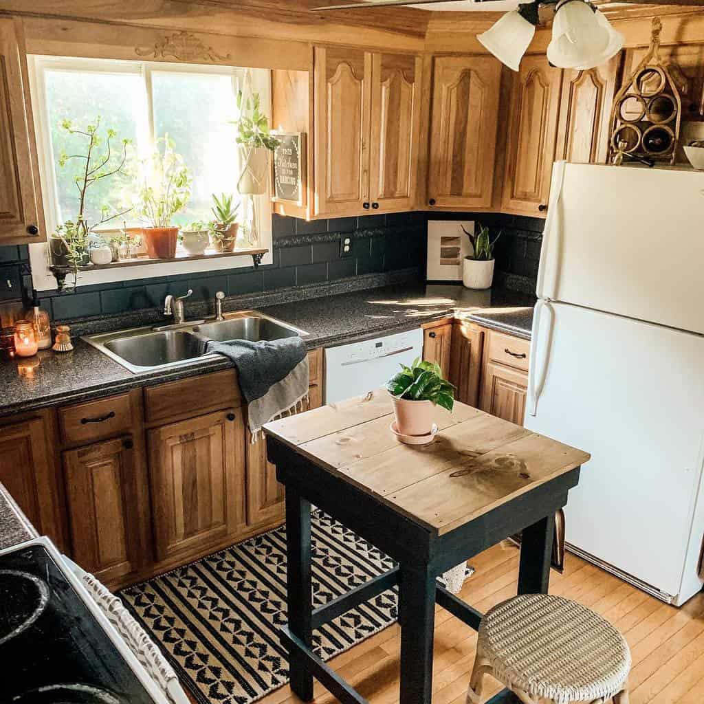 Brown Kitchen Cabinet Color Ideas updatemycape