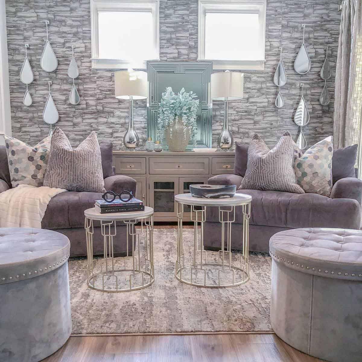 Brown Living Room Carpet ideas -designandstylestudio