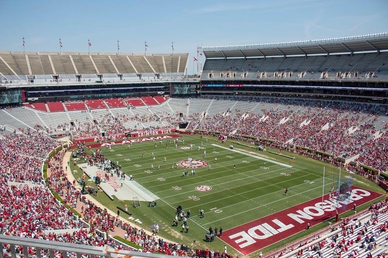 Bryant-Denny Stadium, University of Alabama (Tuscaloosa, Alabama)