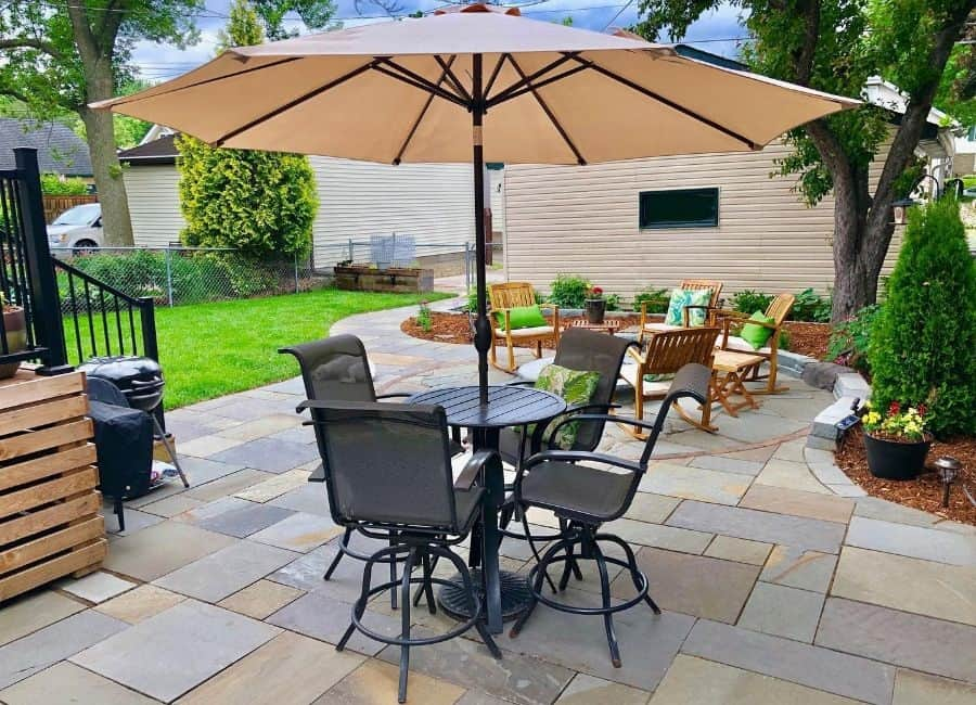 The Top 54 Patio Ideas on a Budget - Landscaping and ... on Backyard Patio Designs On A Budget id=53167