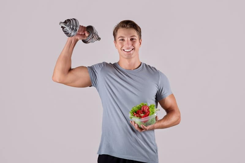 Build-muscle-with-plant-foods