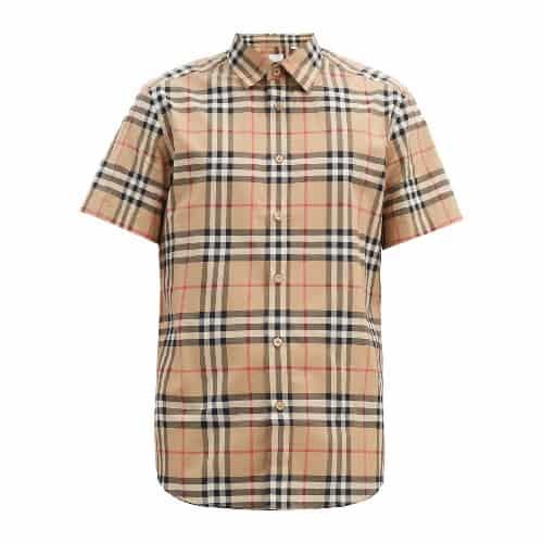 Burberry Nova-Check Cotton Shirt