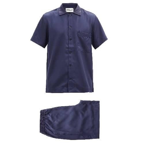 CDLP-Short-sleeved-Satin-Pajamas