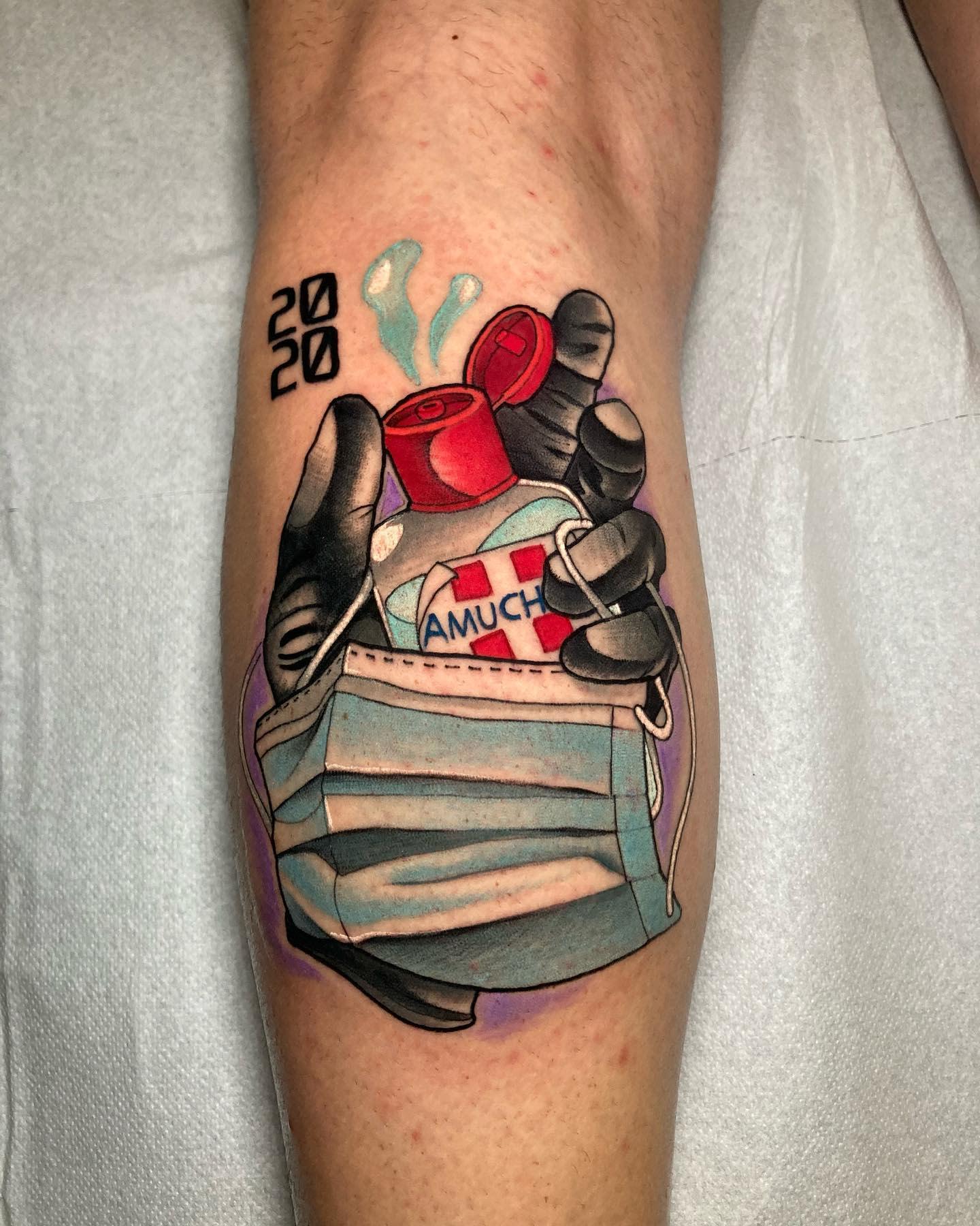Leg COVID Tattoo -marco_knoxink