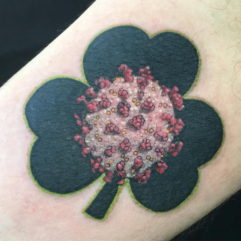 Small COVID Tattoo -ricky_anonymoustattoo