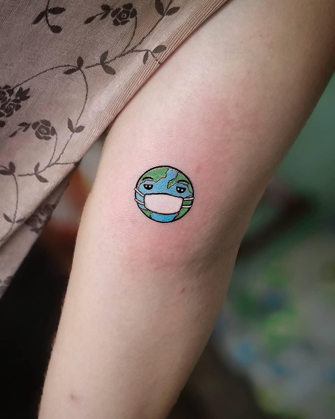 Small COVID Tattoo -th_ink_cuba