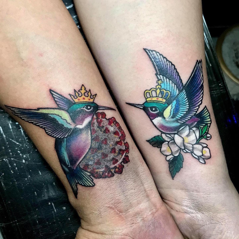 Small COVID Tattoo -yeyettattoo