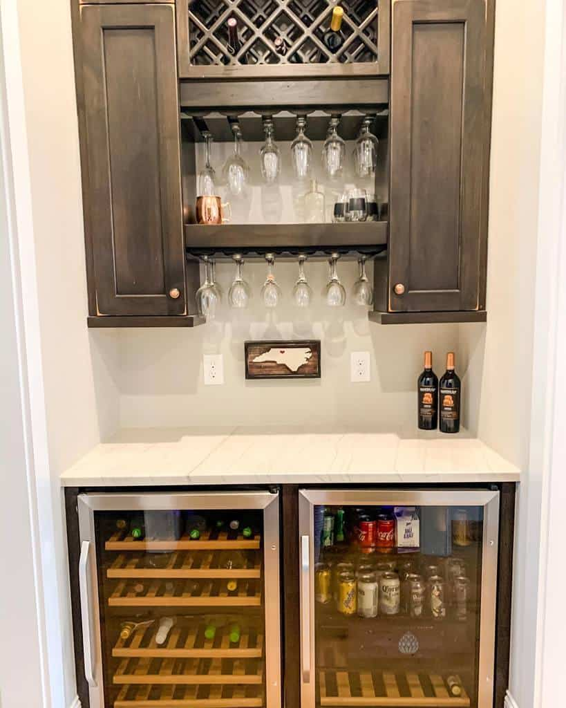 Cabinet Wet Bar Ideas home_on_providence_hill