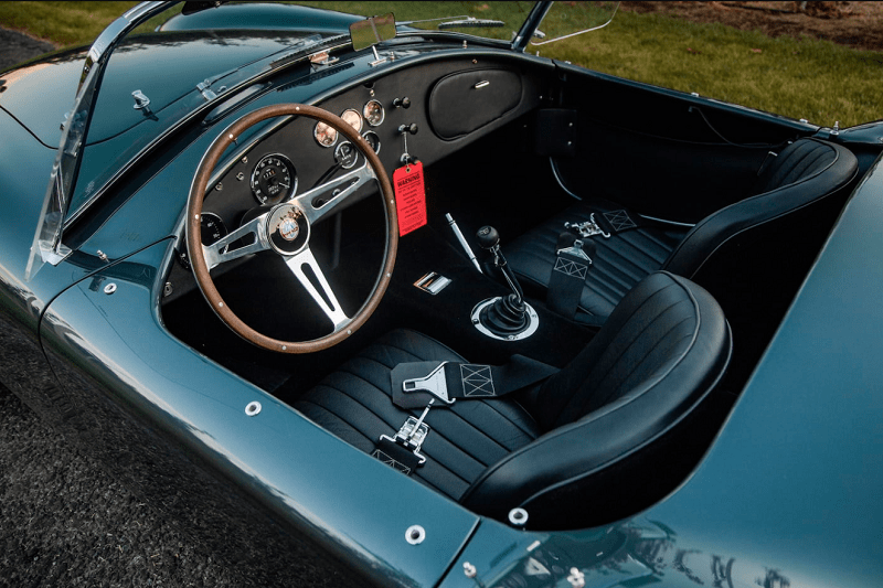 Carroll Shelby's 1965 427 Cobra Roadster Up For Auction 1