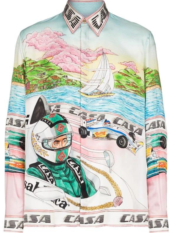Casablanca Art of Racing Shirt