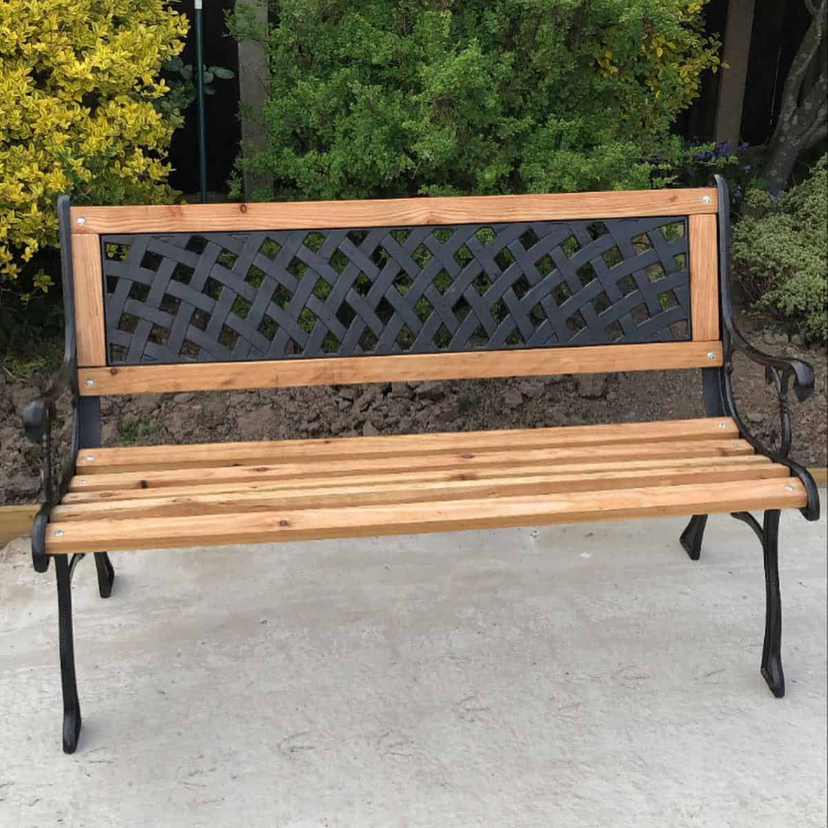 Cast Iron Garden Bench Ideas -ourforeverhome63