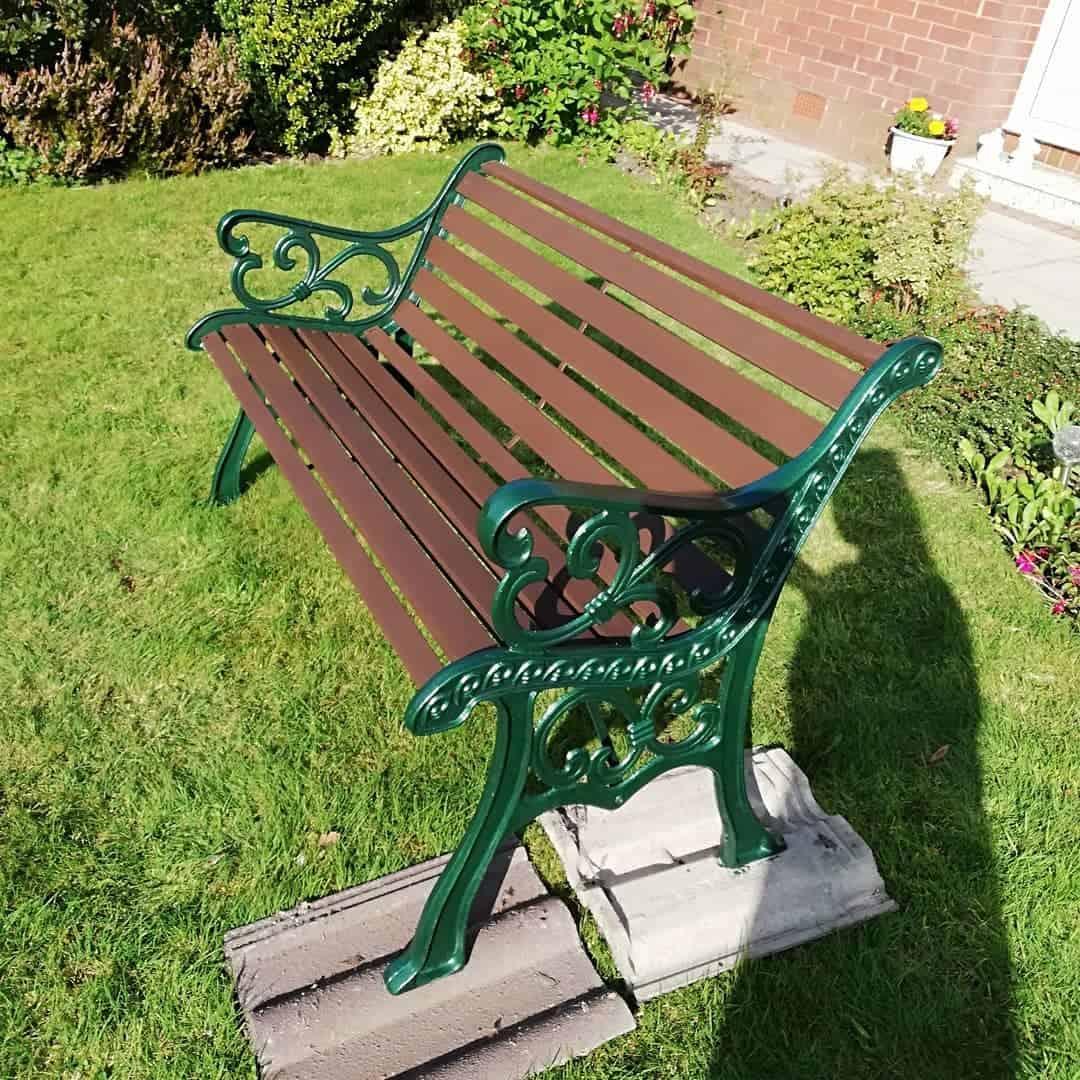 Cast Iron Garden Bench Ideas -thelittletownhouse96