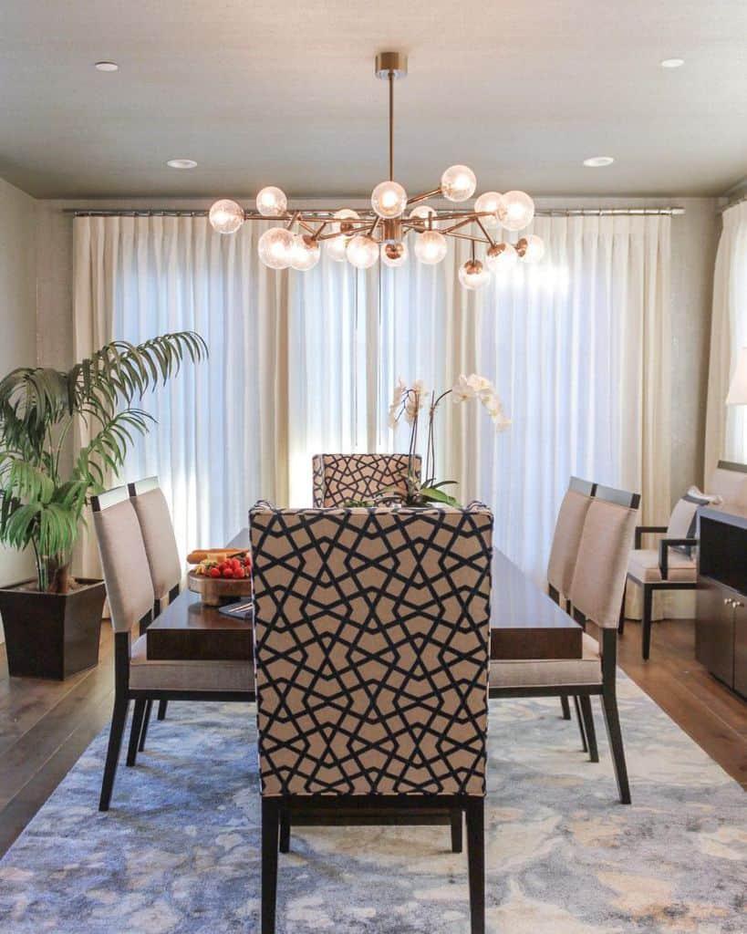 Ceiling dining room lighting ideas kathyannabellinteriors