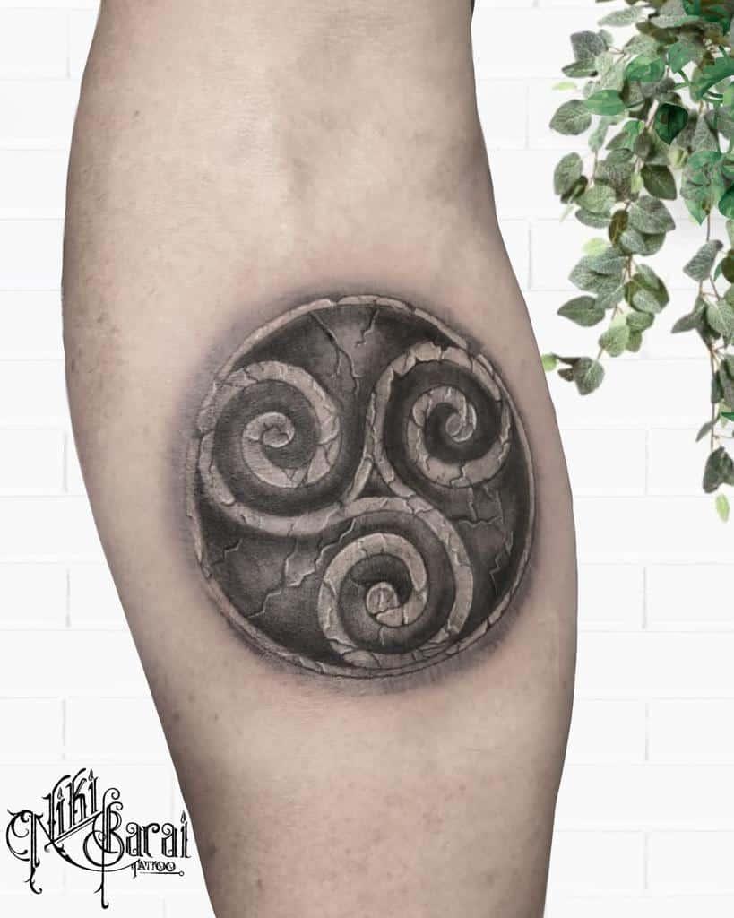 Celtic Scottish Tattoo Nikibarai.tattoo