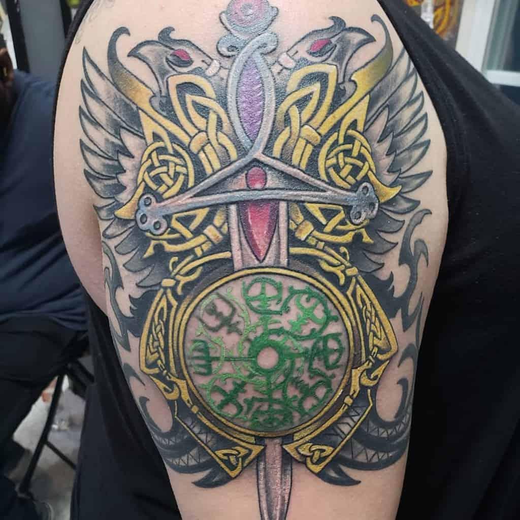 Celtic Scottish Tattoo Rainbow Britetatts 4