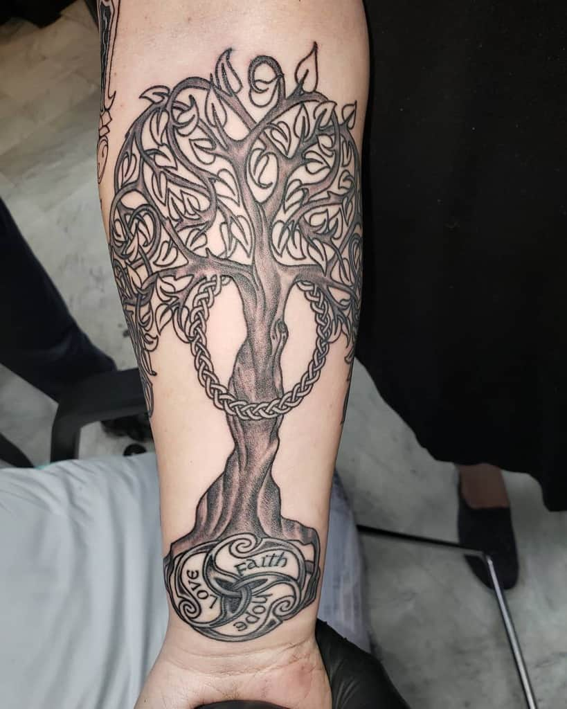Celtic Scottish Tattoo Rainbow Britetatts