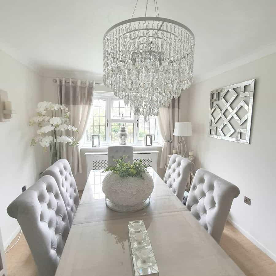 Chandeliers dining room lighting ideas jayne_winter_country_life