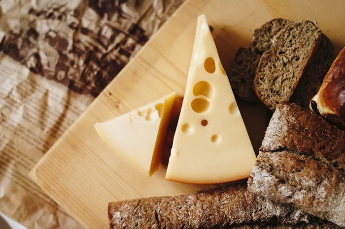 Cheese And Brown Bread