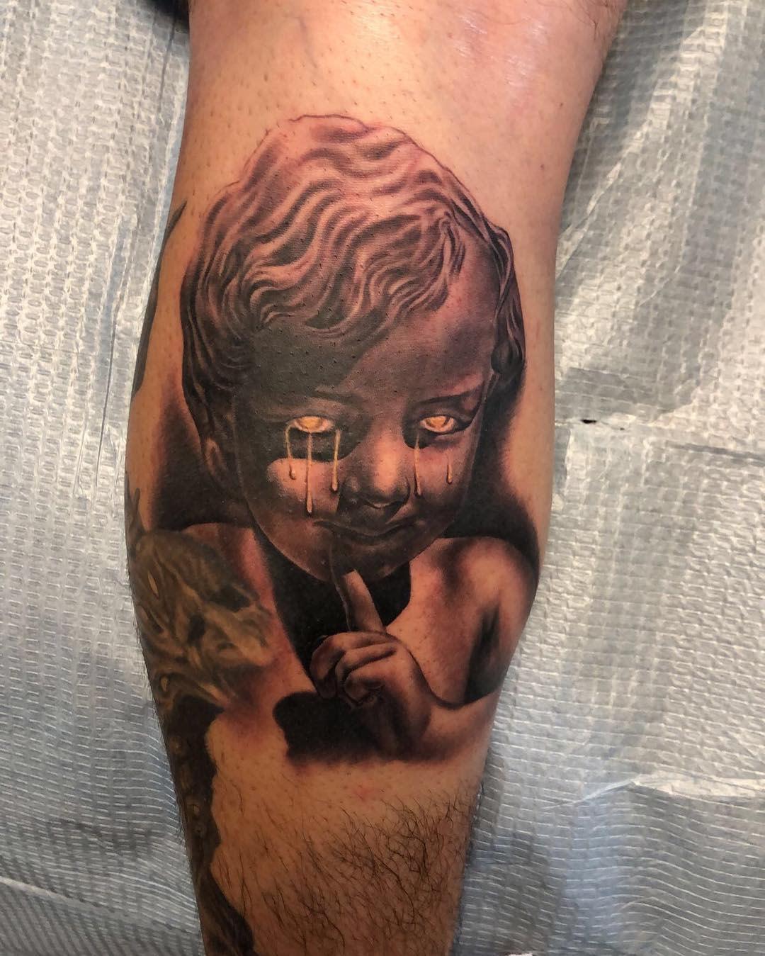 Evil Cherub Tattoo -rolitat2