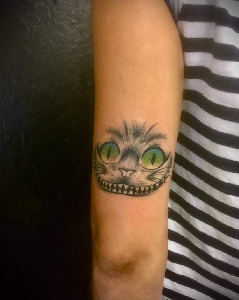 Cheshire Cat Smile Tattoo maximebamboojo