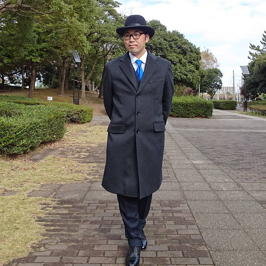 Classic Chesterfield Coat -albert_masa_hatsuda