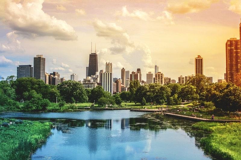 Chicago-Illinois-Best-American-Summer-Break-Destinations