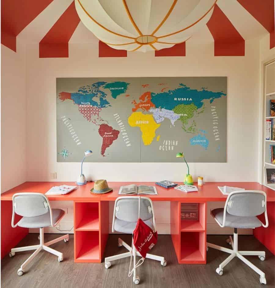 Children Study Room Ideas dlarchitecture