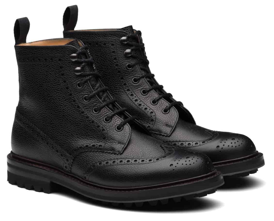 Church's McFarlane Lw Highland Grain Lace-Up Boots