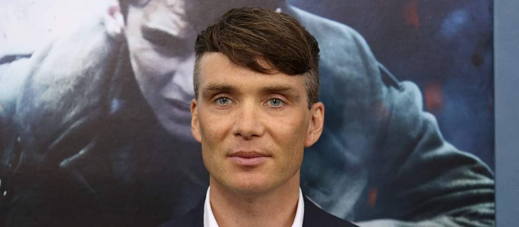 Peaky Blinders actor Cillian Murphy with hairstyle made famous by the show