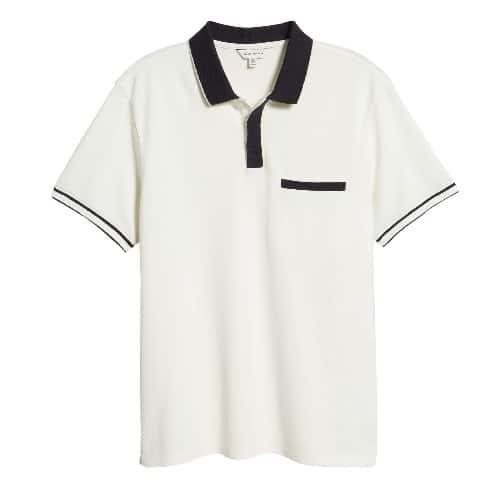 Club Monaco Welt Pocket Polo