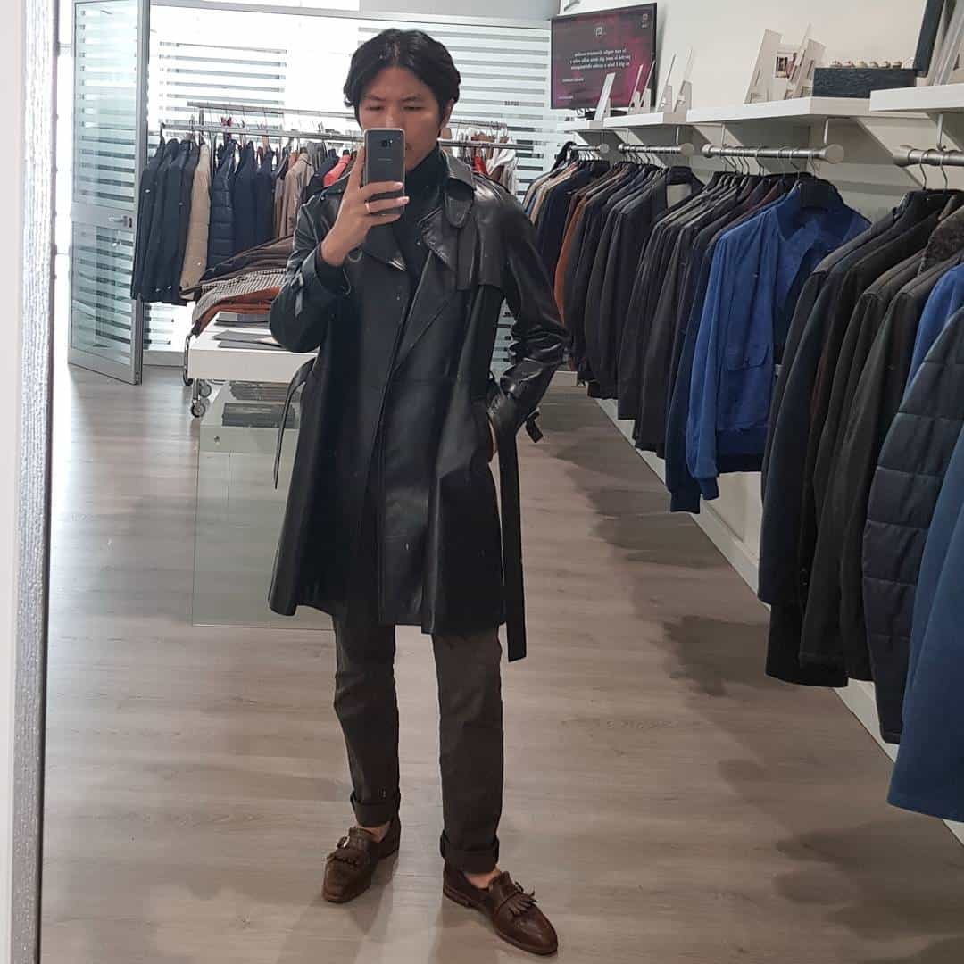 Coat Leather Jacket Styles -lamarche_official