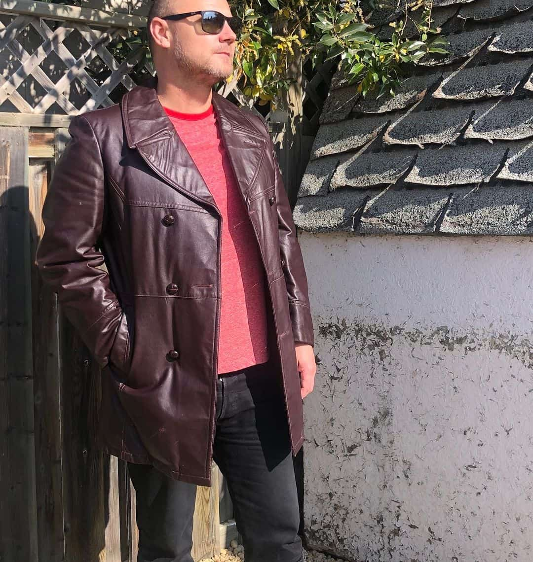 Coat Leather Jacket Styles -longlostvintageco