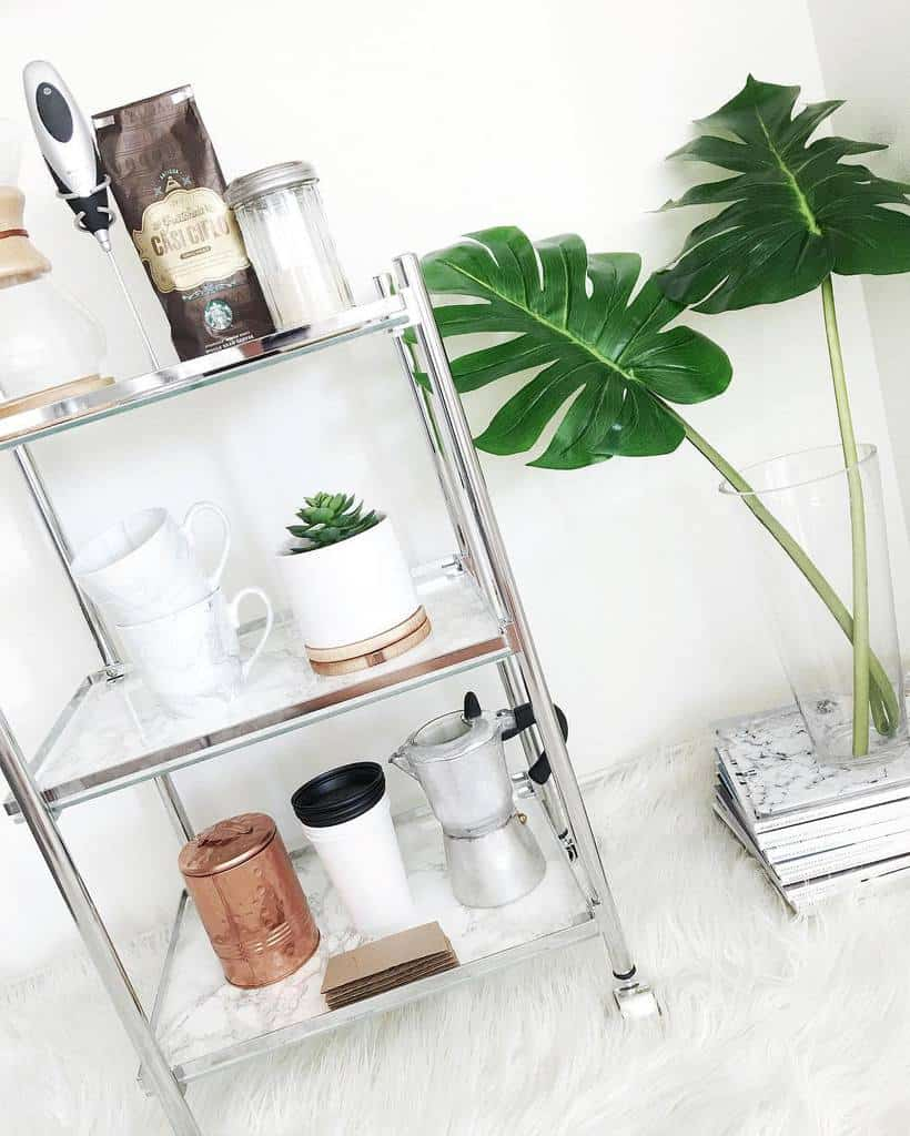 Coffee Bar Cart Ideas -i_tkachuk