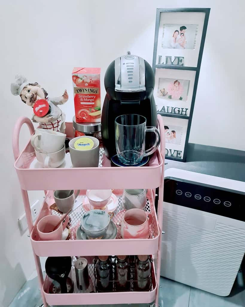 Coffee Bar Cart Ideas -the.caffeinator