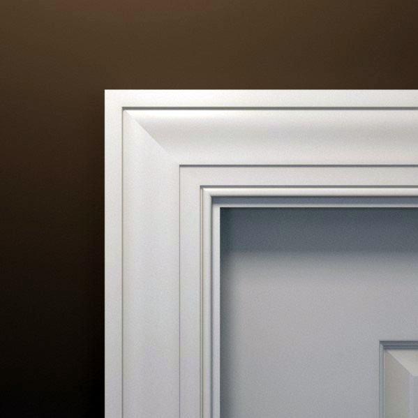 Colonial Style Door Casing