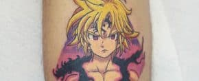 Top 23 Best Meliodas Tattoo Ideas – [2020 Inspiration Guide]