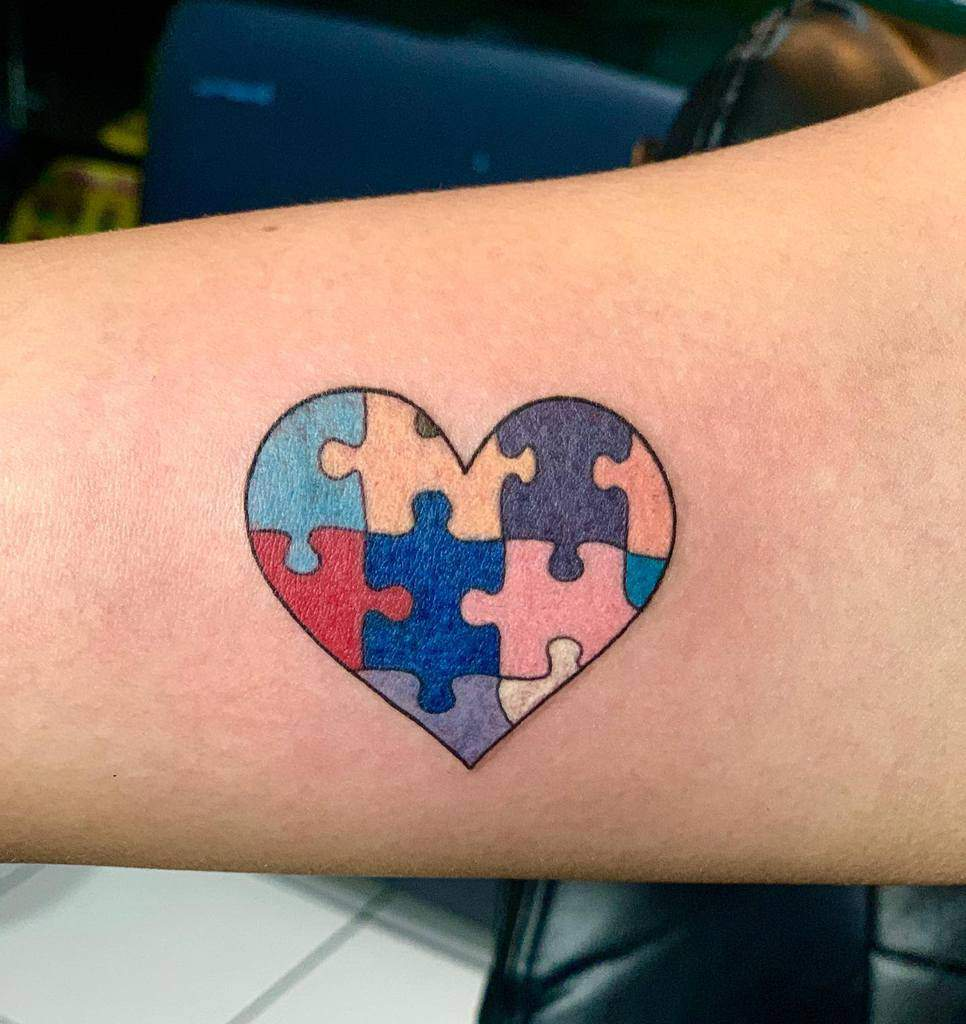 Color Heart Tattoo Graphicsbyshyboy