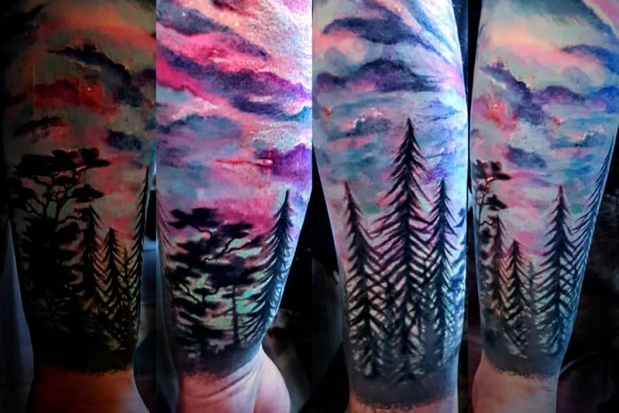 Top 70+ Best Forest Sleeve Tattoo Ideas – [2021 Inspiration Guide]