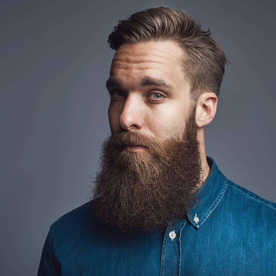 Comb Over With Beard 3