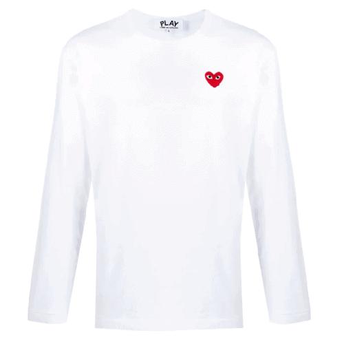 Comme Des Garçons Play Long Sleeved Shirt