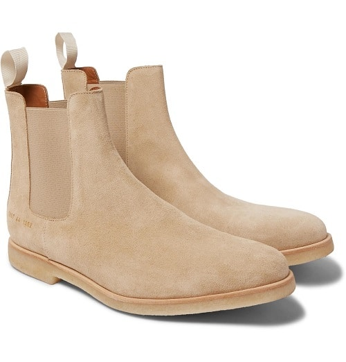 Common-Projects-Suede-Chelsea-Boots
