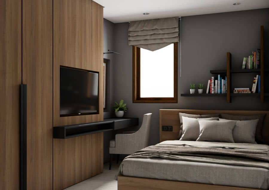 Contemporary Small Bedroom Ideas Adriawanrp