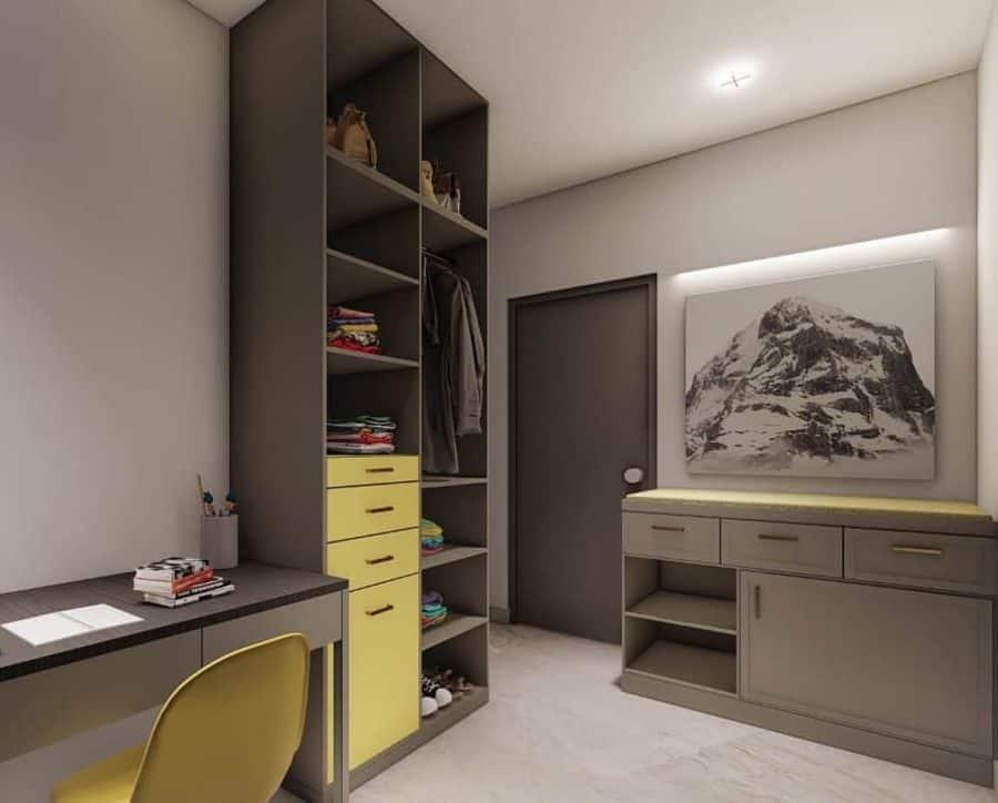 Contemporary Study Room Ideas yt_architects