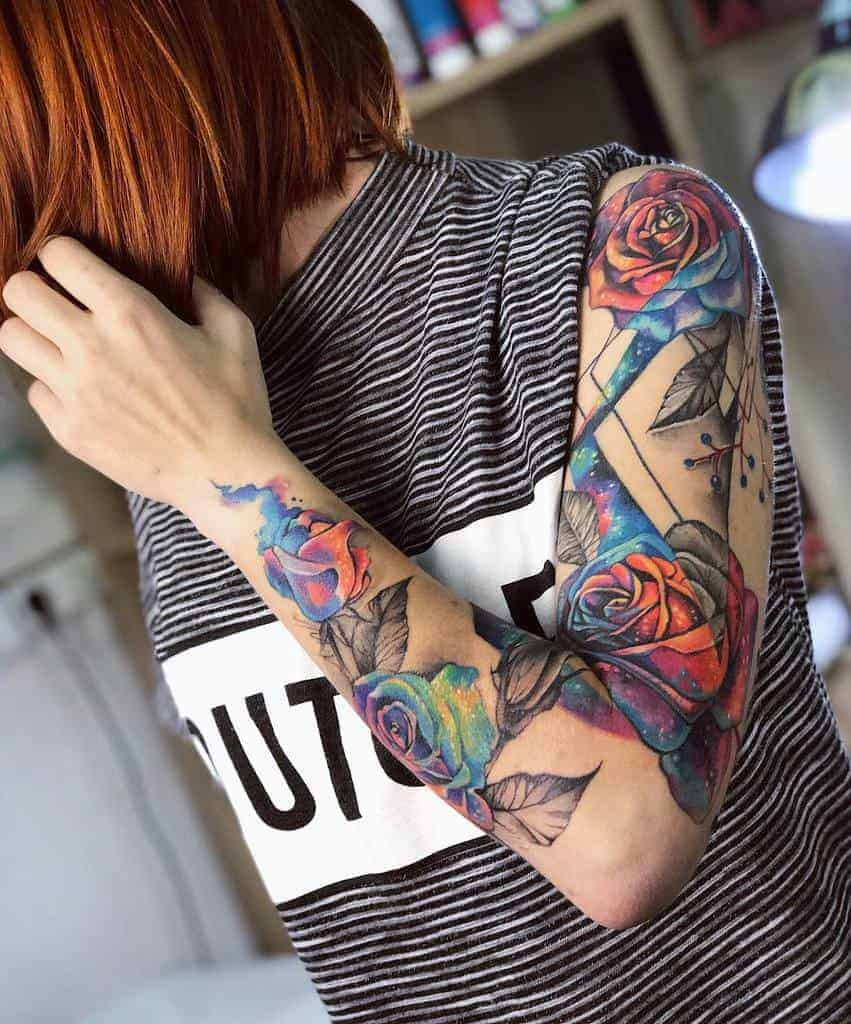Cool-Sleeve-Tattoos-for-Women-dinalitun