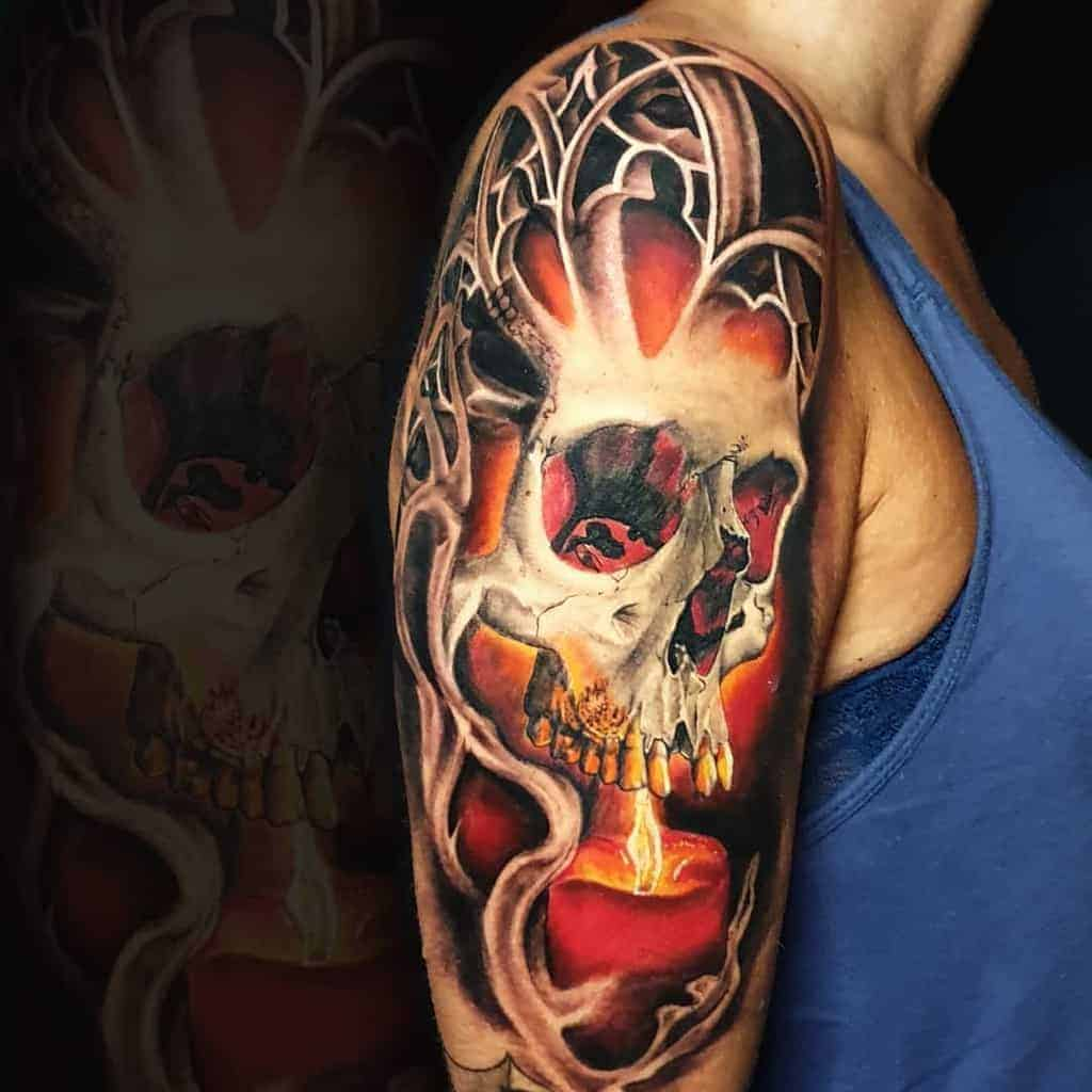 Cool-Sleeve-Tattoos-for-Women-hautundliebetattoo