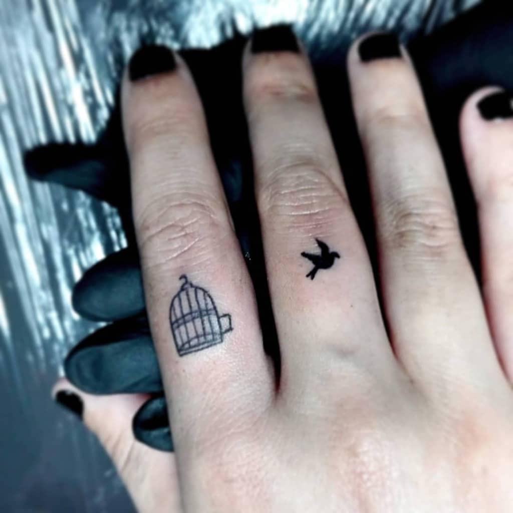Cool Small Finger Tattoos alinyathillatattoo