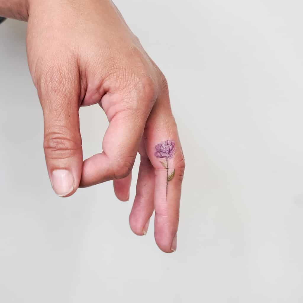 Cool Small Finger Tattoos sherriaustria