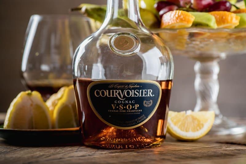 Courvoisier Cognac Bottle