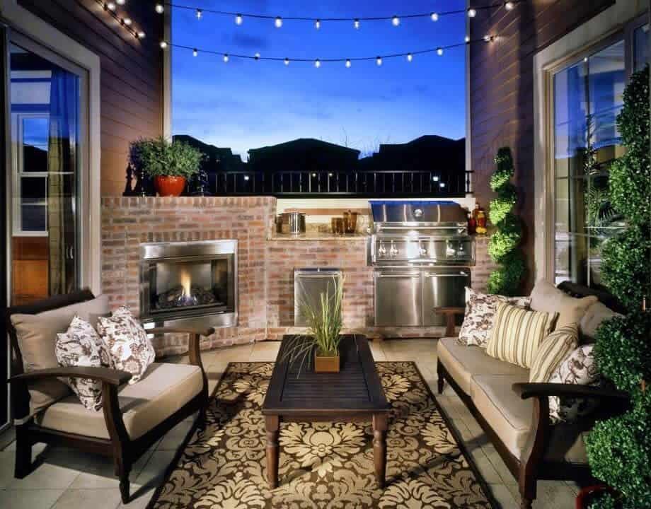 Cozy Deck Decorating Ideas -celenerealestate