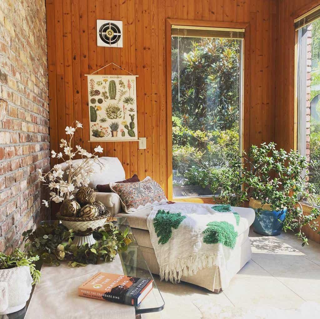Cozy Sunroom Furniture Ideas sleepylawfarm